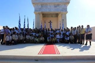 74η Επέτειος Μαχών Ελ Αλαμέιν στο Ελληνικό Μνημείο