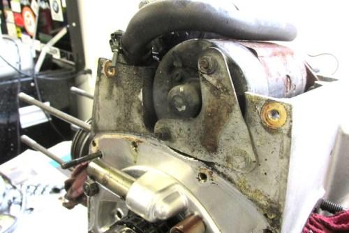 Starter Motor Front Mounting Bracket