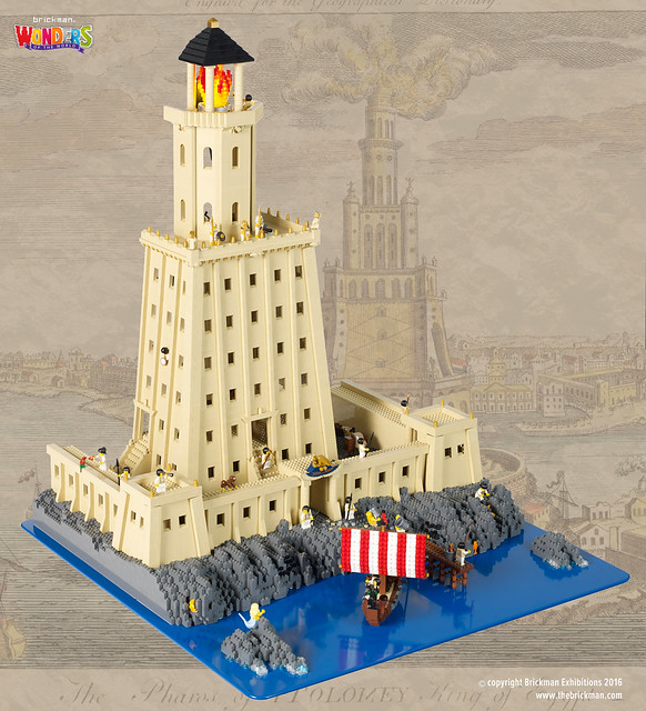 LEGO Lighthouse of Alexandria