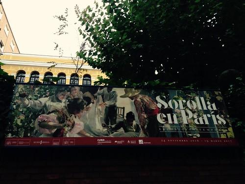 Exposición Sorolla en París, Museo Sorolla, Chamberí. Madrid