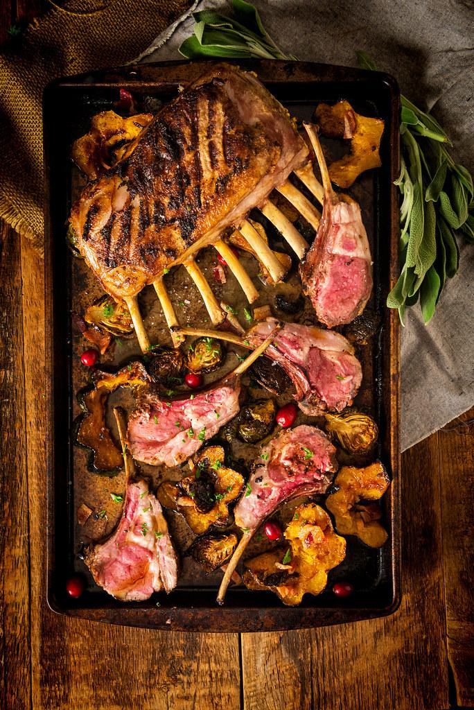 Perfect Grilled Rack of Lamb {Girl Carnivore}