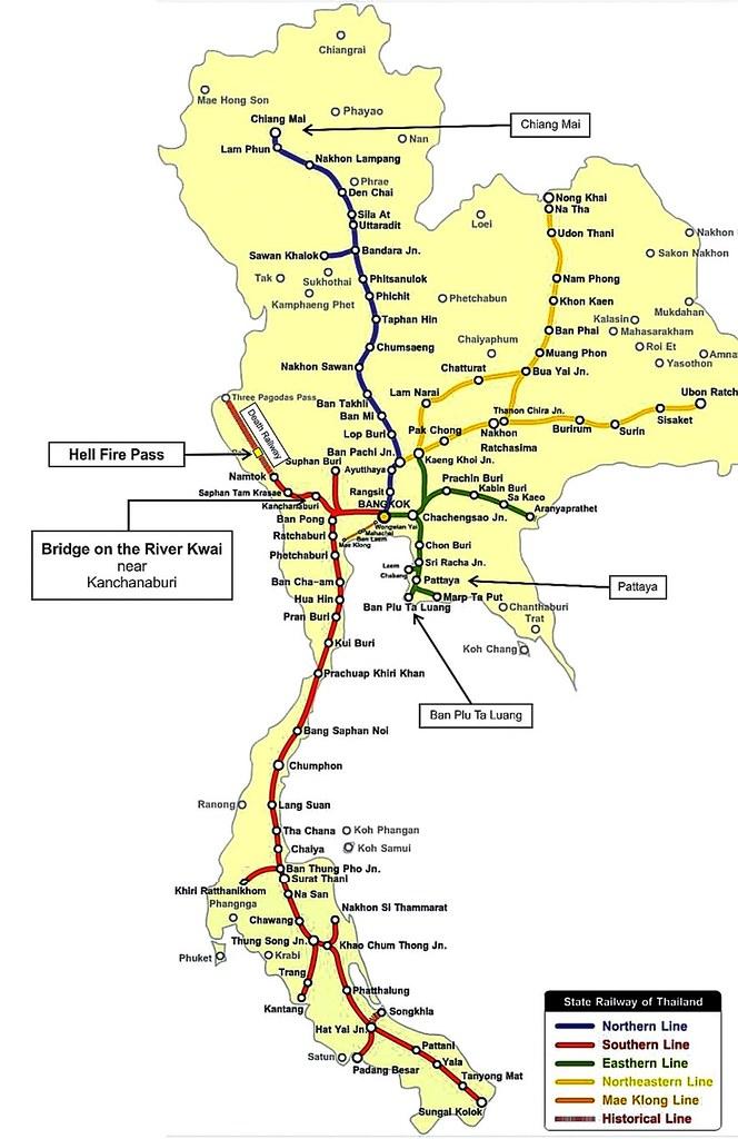 《北碧府景点推介》桂河大桥死亡铁道行:缅怀战争残酷沈淀后的复古铁道风采