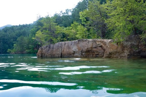 Lake Jocassee Kayaking-103