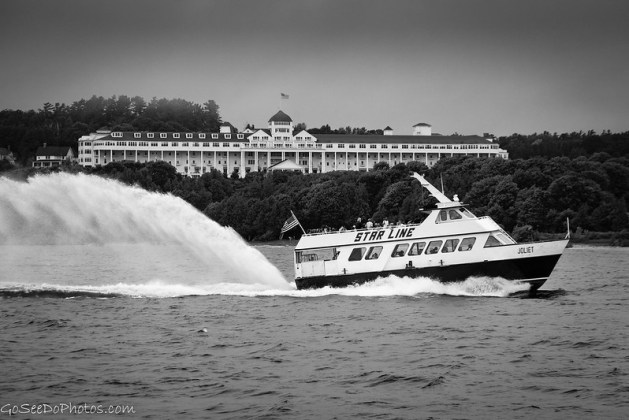 Mackinac B&W