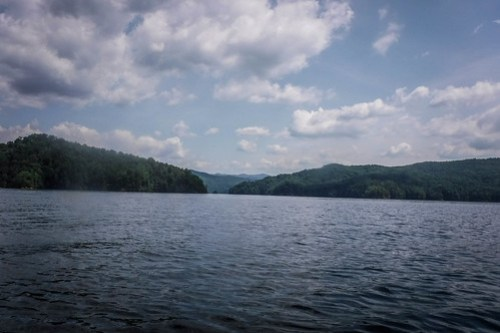 Lake Jocassee Kayaking-99