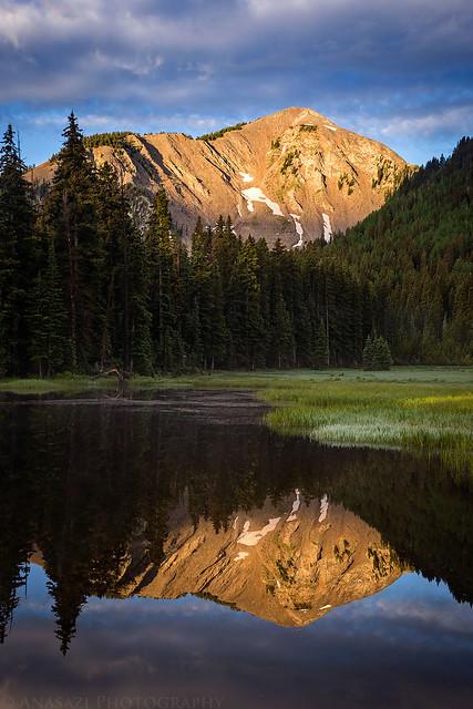 Medicine Lake Reflection
