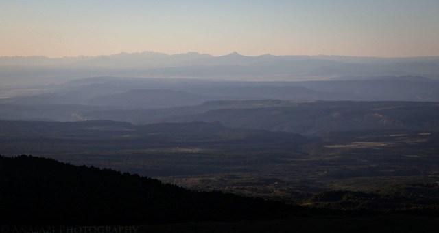 Smoky Colorado View