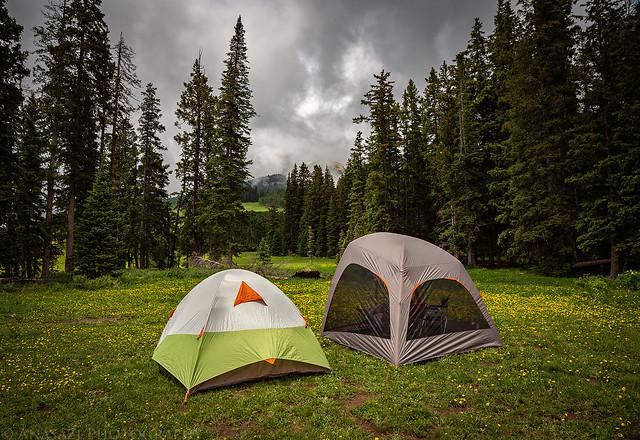 Medicine Lake Camp