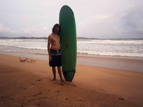 Surfer Pose