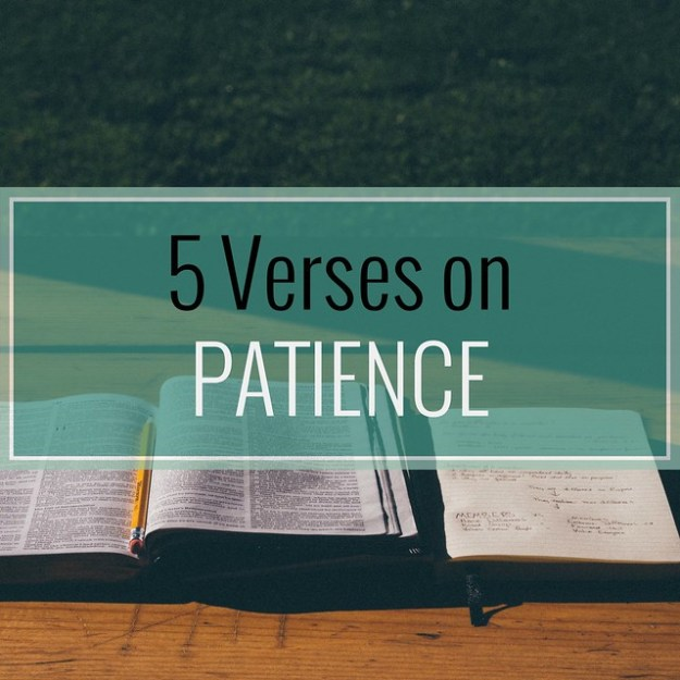5 Verses on Patience