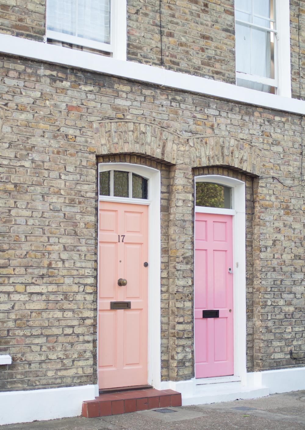 Summer Mode Columbia Road doors