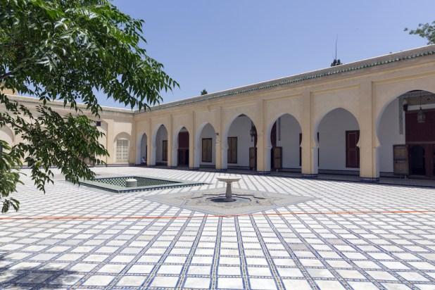 Visita a Dar Batha