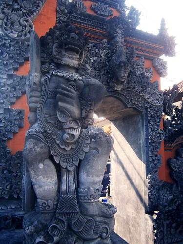 Hindu Gate at Tanah Lot Bali