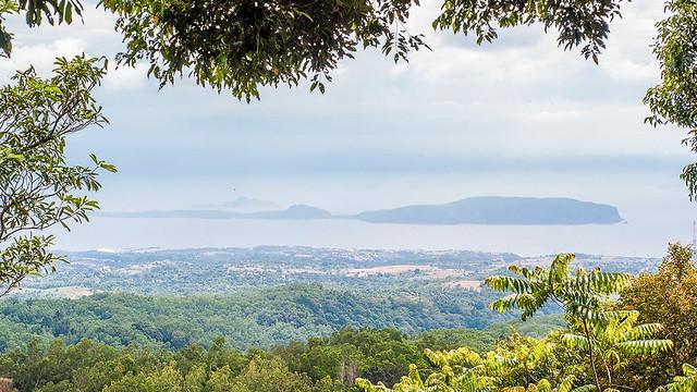 Corregidor & Caballo Islands viewed from trail to Tarak Ridge