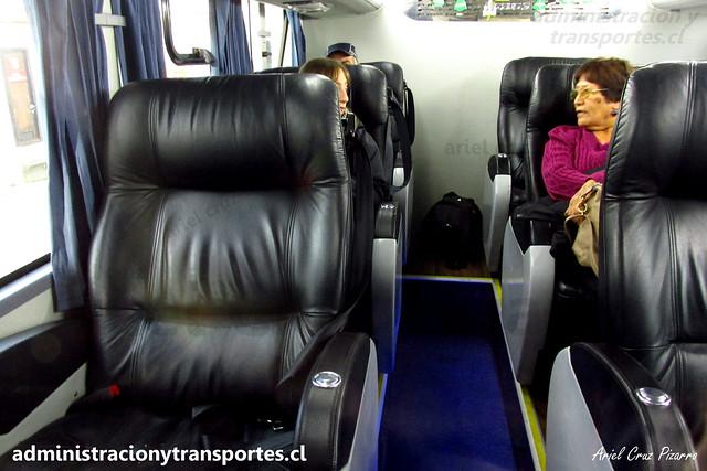 Queilen Bus | 1° Piso - Salón Cama | Modasa Zeus 3 - Volvo / GYPS38 - 96