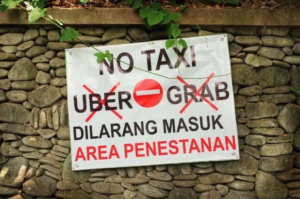 Taxi en Bali