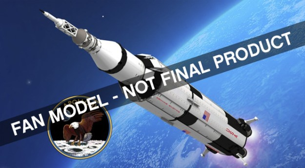 LEGO IDEAS Apollo 11 Saturn V