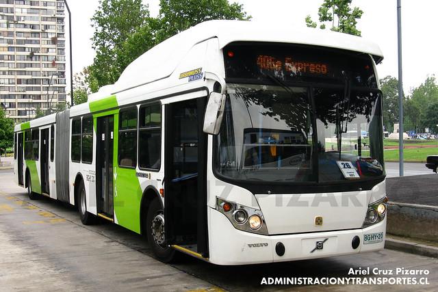 Transantiago - Express de Santiago Uno - Busscar Urbanuss Pluss / Volvo (BGHY20)