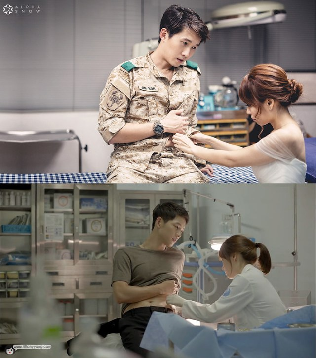 Descendants of the Sun Ep1 Injured AlphaSnow