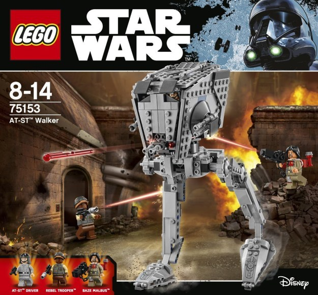 First look at LEGO Star Wars Rogue One sets [News]   The Brothers ...