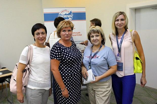 Представители Почты Крыма и Российской газеты