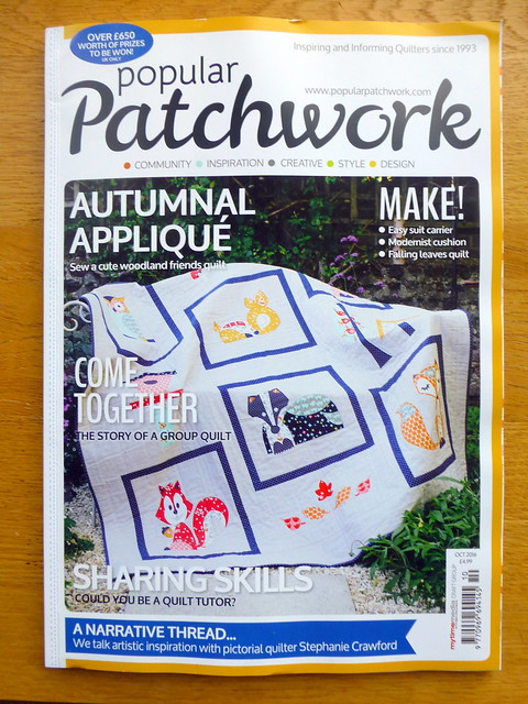 Woodland Friends Quilt (Popular Patchwork, Oct issue)