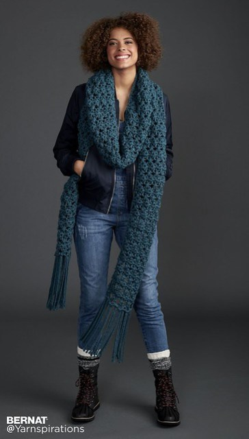 Free Super Scarf pattern