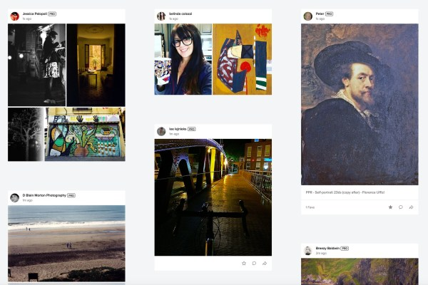 New Flickr Feed on the Flickr Home Page