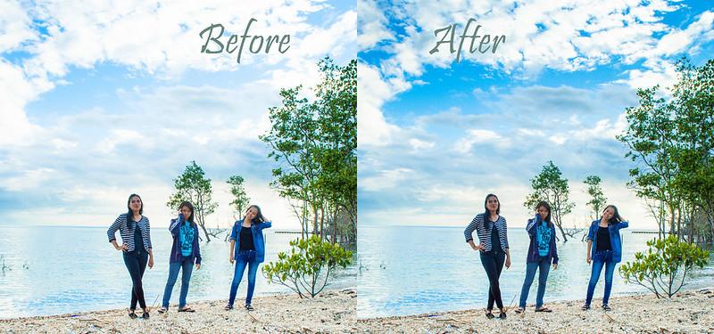 2 Cara Sederhana Memunculkan Warna Langit Di Adobe Lightroom