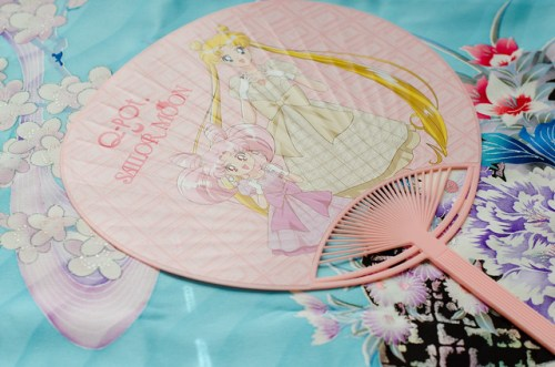 Q-Pot x Sailor Moon Novelty Fan