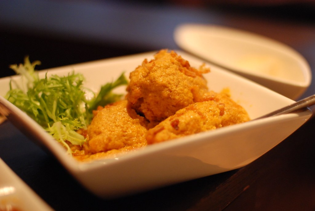 Fish Curry @ Restaurant Blauw Amsterdam