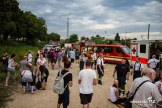 Zugevakuierung Hattersheim 28.8.2016