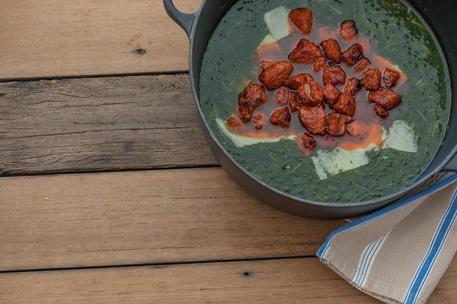 Chorizo & Kale Soup-2