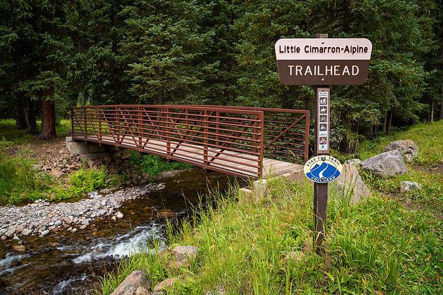Little Cimarron - Apline Trailhead