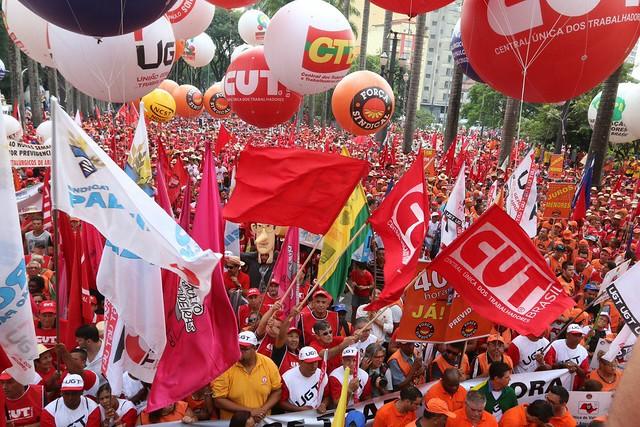 Centrais sindicais aprovam greve nacional contra reforma da Previdência Social , centrais sindicais