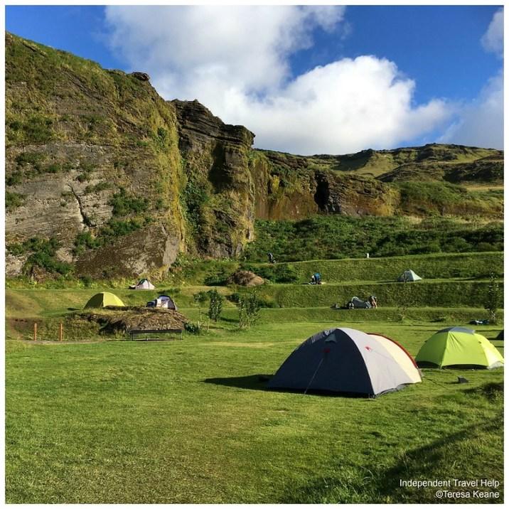 Vik campsite