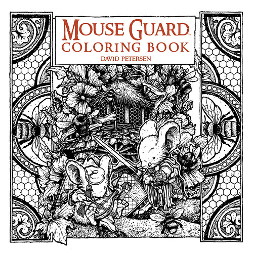 29425372214_480a26f148 ComicList Preview: MOUSE GUARD COLORING BOOK TP