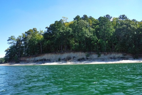 Paddling to Ghost Island in Lake Hartwell-83