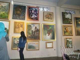 Downstairs Art Gallery