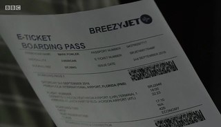 BreezyJet Boardng Pass