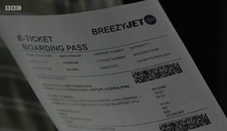 BreezyJet Boardng Pass