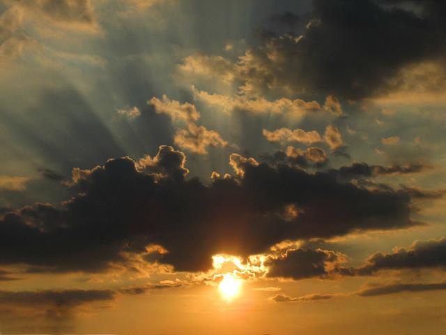 Sunset in Atlantic City