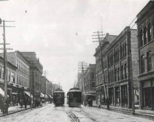 King Street, Berlin, Ontario 1907