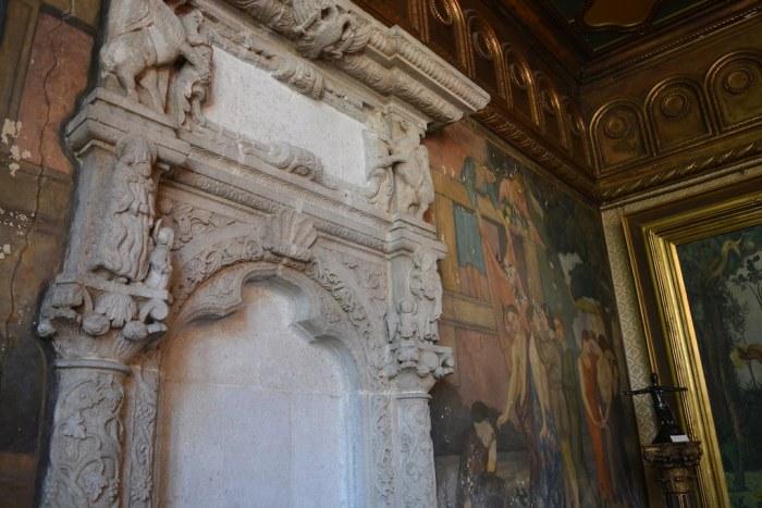 Interior of the Villa Storck