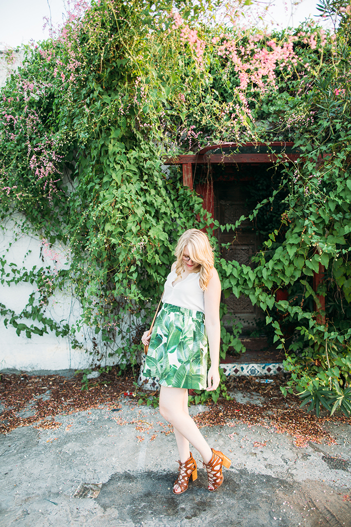 tropical leaf skirt5