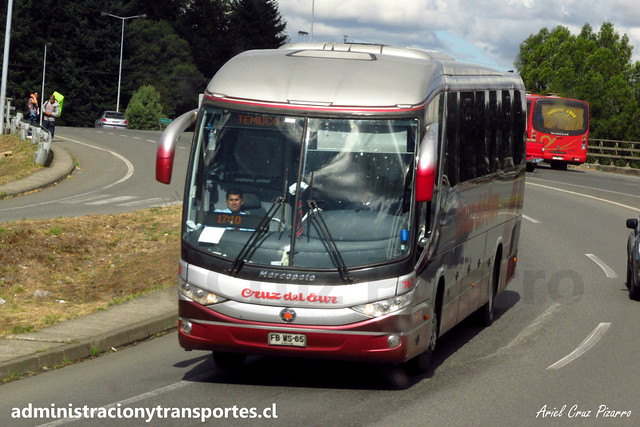 Cruz del Sur | Osorno | Marcopolo Paradiso 1050 - Mercedes Benz / FBWS65 - 763