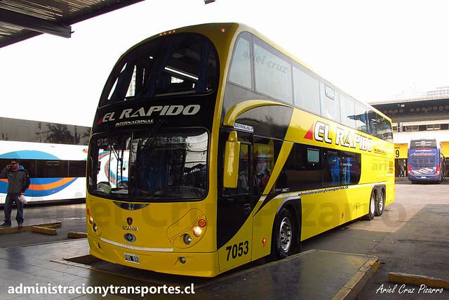 El Rápido Internacional | Santiago | Metalsur Starbus 2 - Scania / PBS999 - 7053