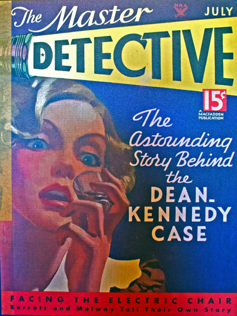 Master Detective magazine featuring the case.