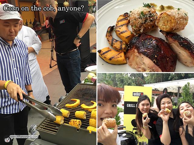 Weber Asia Grilling Corn