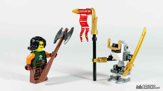 Review LEGO Ninjago 5004391 Sky Pirates Battle